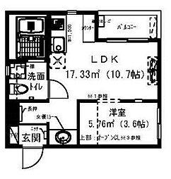 RadIAnce新松戸[3階]の間取り
