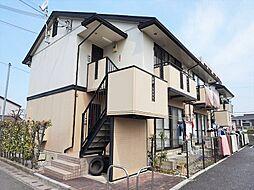 滋賀県近江八幡市西本郷町東の賃貸アパートの外観