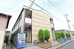 埼玉県草加市松江6丁目の賃貸アパートの外観