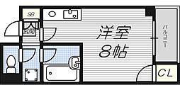バーディハウス井ヅツ[7階]の間取り