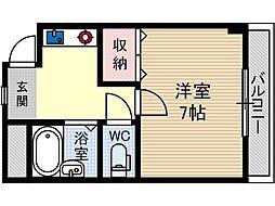 ディアコート舟木[2階]の間取り