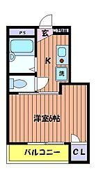 立川NSマンション[3階]の間取り