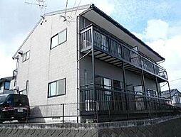 宮崎県宮崎市花山手西1丁目の賃貸アパートの外観