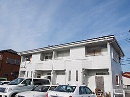 茨城県守谷市薬師台2丁目の賃貸アパートの外観