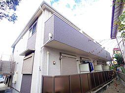 千葉県習志野市谷津2丁目の賃貸アパートの外観