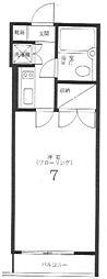 メイプルハウス2[1階]の間取り