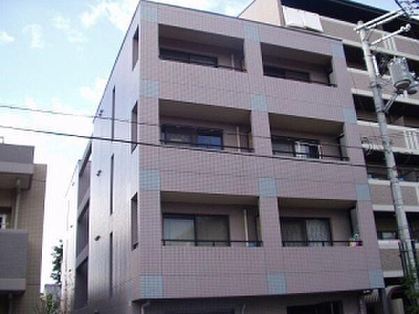 京都府京都市上京区下山里町の賃貸マンションの外観