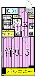 プロシード柏ノール[5階]の間取り
