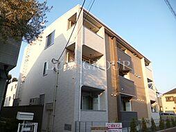 東京都青梅市新町2丁目の賃貸アパートの外観