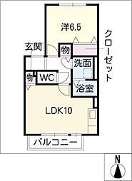 プロキオン[1階]の間取り