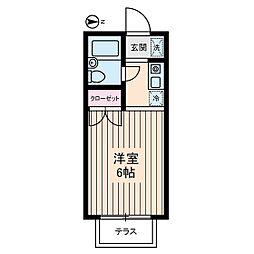 富士ハウス[1階]の間取り