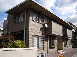 兵庫県宝塚市南口1丁目の賃貸アパートの外観