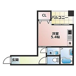 (仮称)船橋市宮本3丁目共同住宅[204号室]の間取り