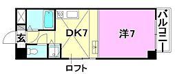 タケワラ148[303 号室号室]の間取り