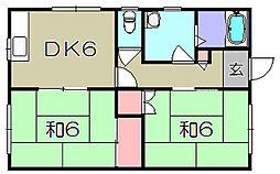 ドミール[1階]の間取り