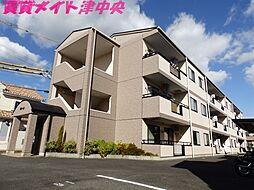 三重県津市美川町の賃貸マンションの外観
