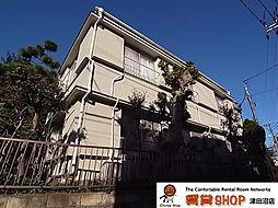 柚原荘[1階]の外観