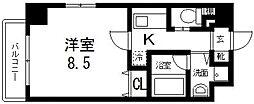 プレシオ小阪[303号室号室]の間取り