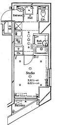 アーバイル東京NEST[6階]の間取り