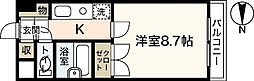 3rd IKEMOTO[4階]の間取り