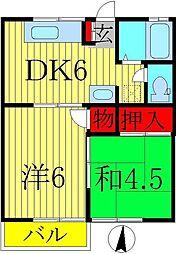第3ドリームコーポ[2階]の間取り
