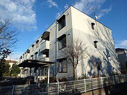埼玉県上尾市浅間台3丁目の賃貸アパートの外観