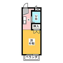 エポックダボ[2階]の間取り