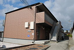 大阪府枚方市杉山手1丁目の賃貸アパートの外観