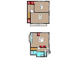 [一戸建] 埼玉県川口市南鳩ヶ谷5丁目 の賃貸【/】の間取り