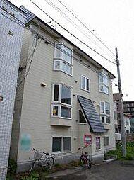 北海道札幌市南区澄川二条2丁目の賃貸アパートの外観