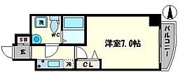 セレニテ上町台北館[7階]の間取り