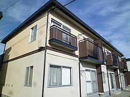 長野県茅野市中大塩の賃貸アパートの外観