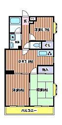 アネックスフジノ[4階]の間取り