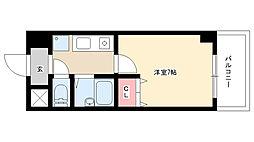 愛知県名古屋市熱田区一番2の賃貸マンションの間取り