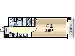 リラクシア千里[2階]の間取り