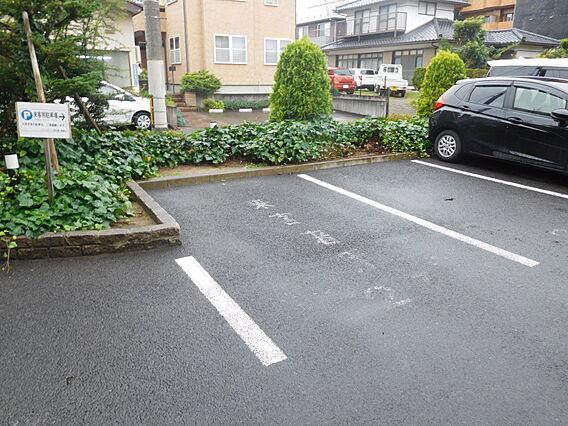 来客用駐車場有...