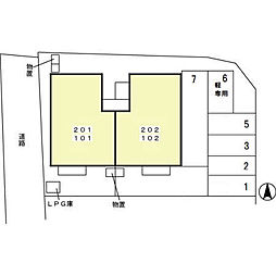 フロイデ・ヴィラ[1階]の外観