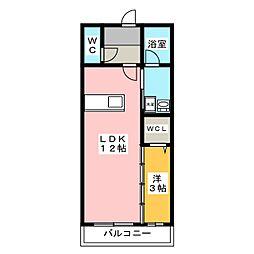 グランデ・カーサ西脇[2階]の間取り