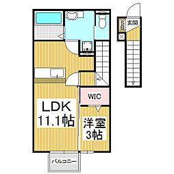 (仮)D-room上新田新築[2階]の間取り