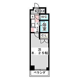 カンダミニアム小松島[1階]の間取り