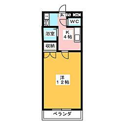 PAL−98[3階]の間取り