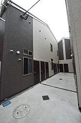 東京都三鷹市上連雀3の賃貸アパートの外観