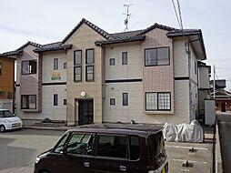 石川県金沢市上荒屋3丁目の賃貸アパートの外観