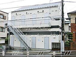 神奈川県大和市福田6丁目の賃貸アパートの外観