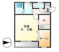 アズーリ[1階]の間取り