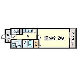 ソレアード・アビ[3階]の間取り