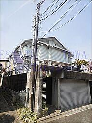 東京都世田谷区等々力2丁目の賃貸アパートの外観