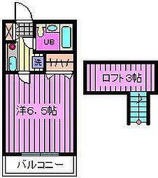 コンフォートマンション大宮[3階]の間取り