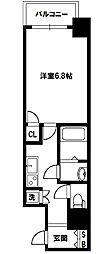 レジュールアッシュプレミアムツインII[8階]の間取り