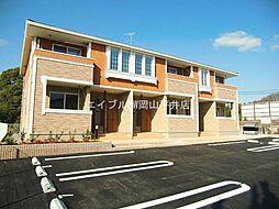 岡山県赤磐市桜が丘西1丁目の賃貸アパートの外観